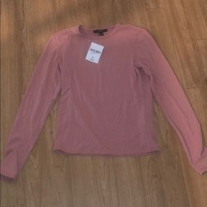 PINK FOREVER 21 LONG SLEEVE NWT!